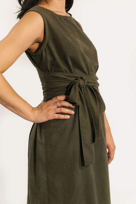 Two Fold Clothing Raw Silk Kayo Dress