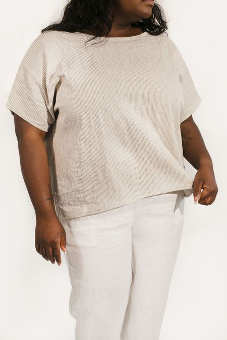 Two Fold Clothing Cotton/Linen Krissy Tee