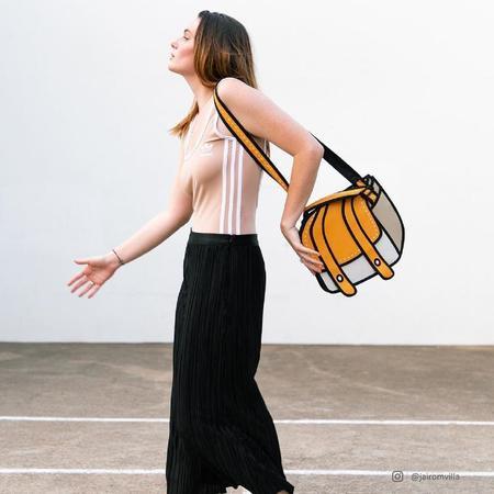 Jump from Paper Pop Art Shoulder Bag - Cheese