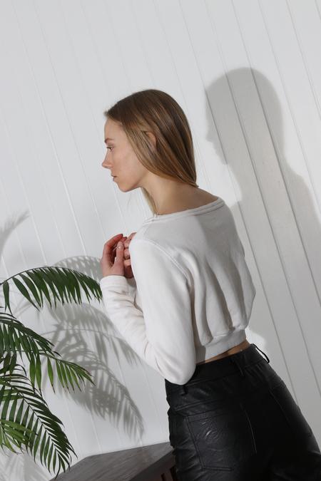 Rachel Comey Argento Sweatshirt - Ivory