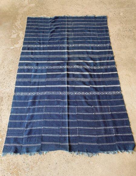 Vintage Throw - DARK BLUE/INDIGO