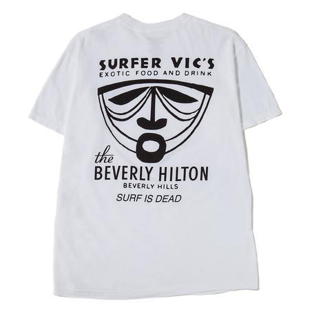 Surf Is Dead Trader Vics T-Shirt - White