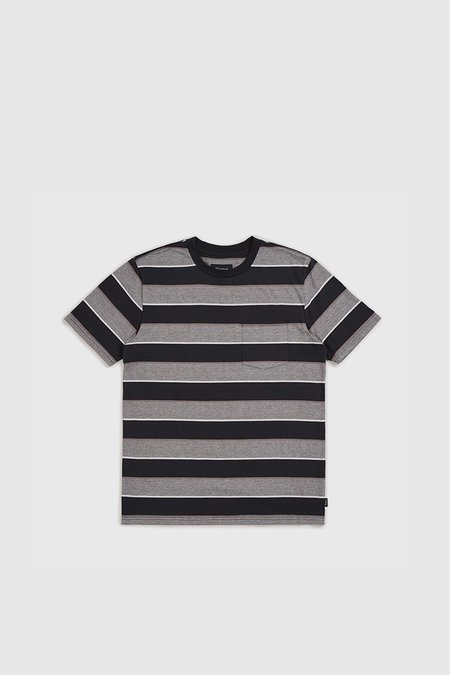 Brixton Hilt Washed S/S Pocket - Washed Black