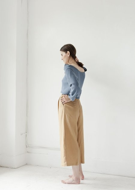 First Rite Crop Culotte - Camel