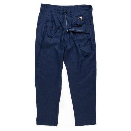 Monitaly Drop Crotch Pants - Navy