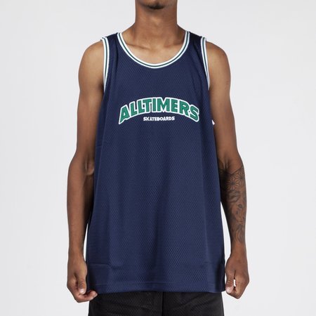 Alltimers Lil Troy Basketball Jersey - Navy