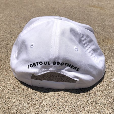 Fortoul Brothers Cap - White
