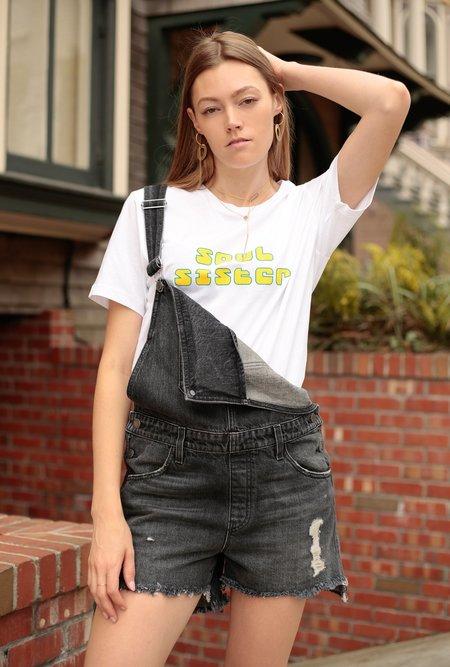 Hudson Jeans Sloane Shortall - Worn Scheme