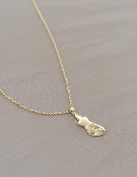 Cadette Petite Form Necklace - Gold