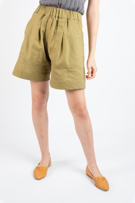 Micaela Greg Utility shorts - green tea
