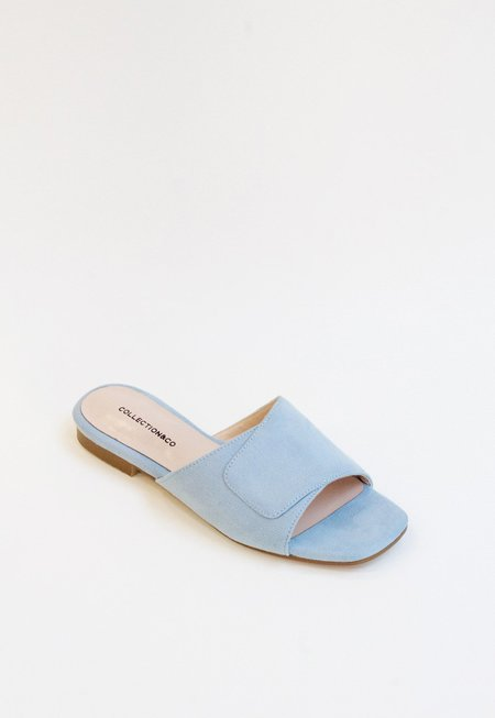 Collection & Co Elia Crossover Slide - Baby Blue
