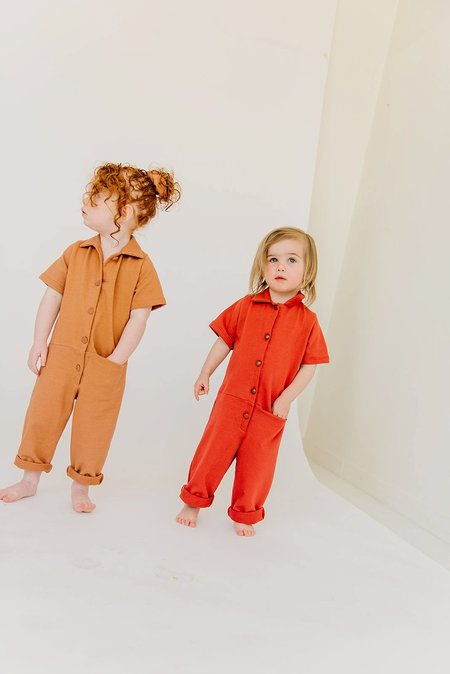 Kids James Street Co Uniform Jumpsuit