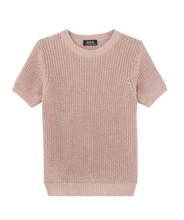 A.P.C. Audrey Pullover - POWDER PINK