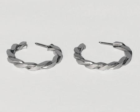 Lacar Century Hoops - Silver