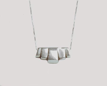 Lacar Deco necklace - sterling silver