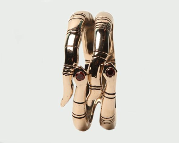 Double Snake Bracelet