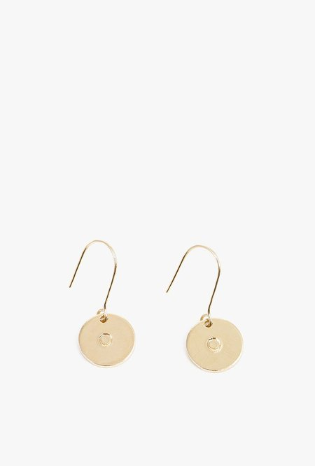 Ak Studio Mineral Earrings - 14k GOLD FILL