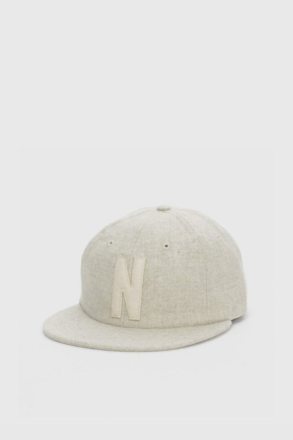 962301862bae0 Norse Projects 6 Panel 'N' Wool Flat Cap - Kit White. sold out. Norse  Projects