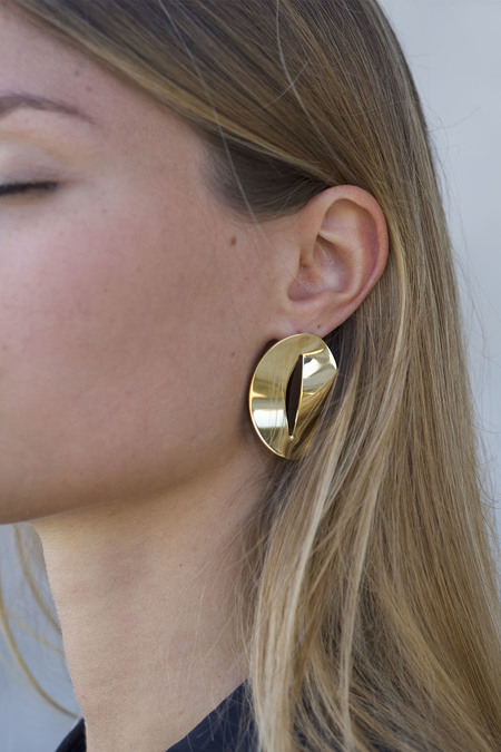Anne Thomas Aruba Earrings - 18k Gold Plated