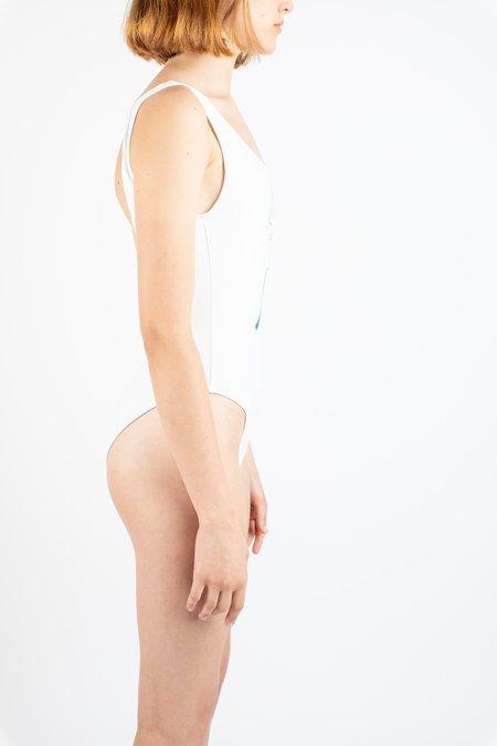 Paloma Wool Macarena Swimsuit - white print