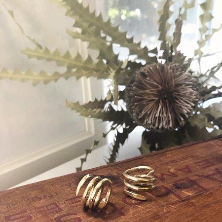 Melissa De La Fuente Renewal Ring - Brass