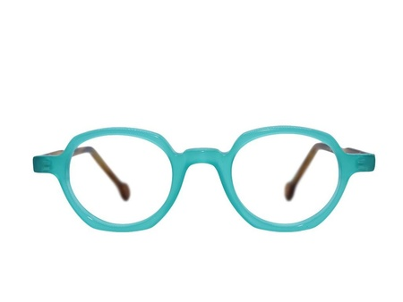 Frame Holland 780 - TURQUOISE/BROWN