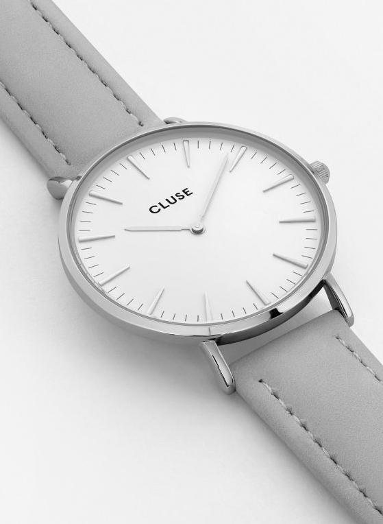Cluse La Boheme Silver Watch Grey