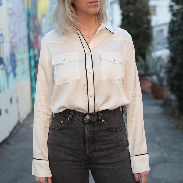Levi's Made & Crafted Western Smiley Top - Pristine