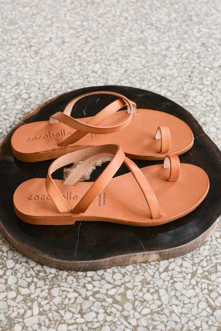 Cocobelle Crescent Sandal - Natural
