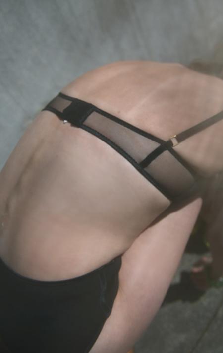 Corporelle Lingerie High-Waisted Panty - Black