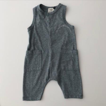 KIDS Tocoto Vintage Jersey Jumpsuit - Green