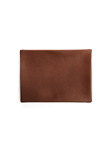 Isaac Reina Leather A5 Box - Brown