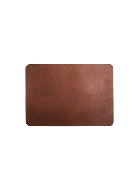 Isaac Reina Leather Mouse Pad - BROWN