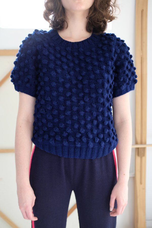 A Détacher Miyu Pullover - Navy