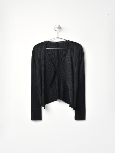 Pleats Please Issey Miyake Pleats Jacket - Black