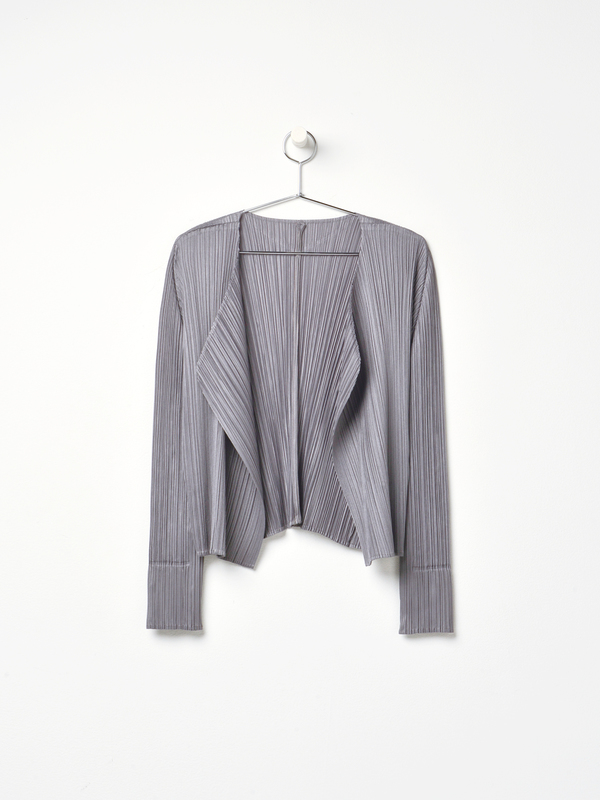 PLEATS PLEASE ISSEY MIYAKE PLEATS JACKET - GRAY