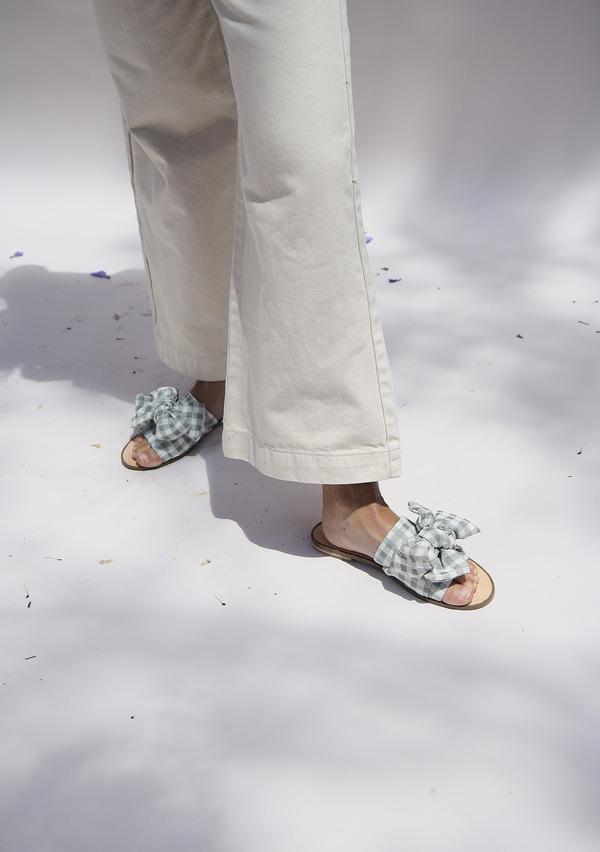 Miista Peggy Slides - Olive Picnic
