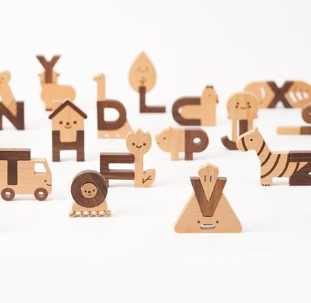 Oioiooi Alphabet Play Blocks