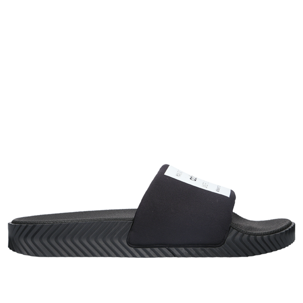 the latest f7db9 65e7d adidas Originals x ALEXANDER WANG AW Adilette Slides - Core Black/Core  White on Garmentory