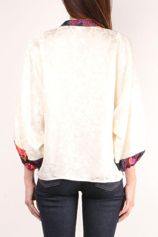 Warm Love Street Blouse - Ivory
