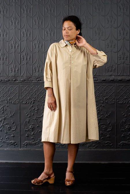Basco Painters Dress - Cream