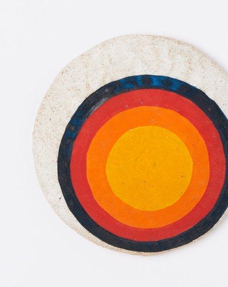 MQuan Offering Bowl - Marigold Bullseye