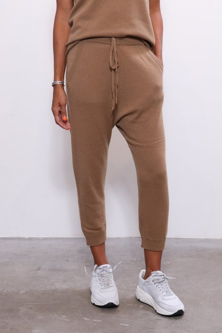 Nili Lotan Paris Sweatpants - Camel