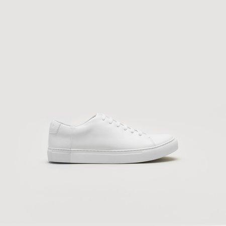 THEY Two-Tone Sneakers - Mono White