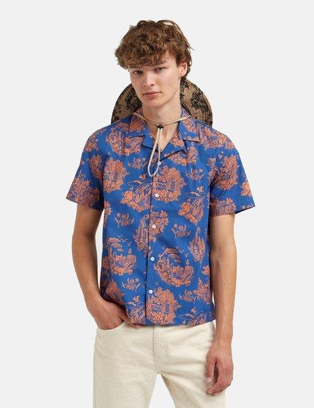 Wood Wood Brandon Shirt - Tourist Blue