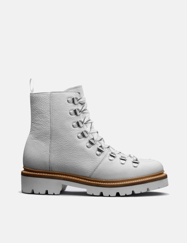3b154b30ee3 Grenson Nanette Softie Calf Ski Boot - White