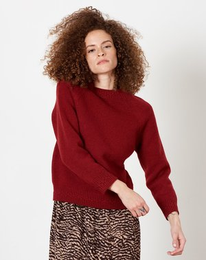 A.P.C. Wicklow Sweater - Rouge Fonce