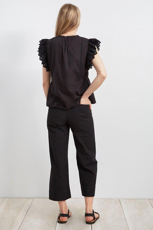Apiece Apart Maria Del Mar Top - Black