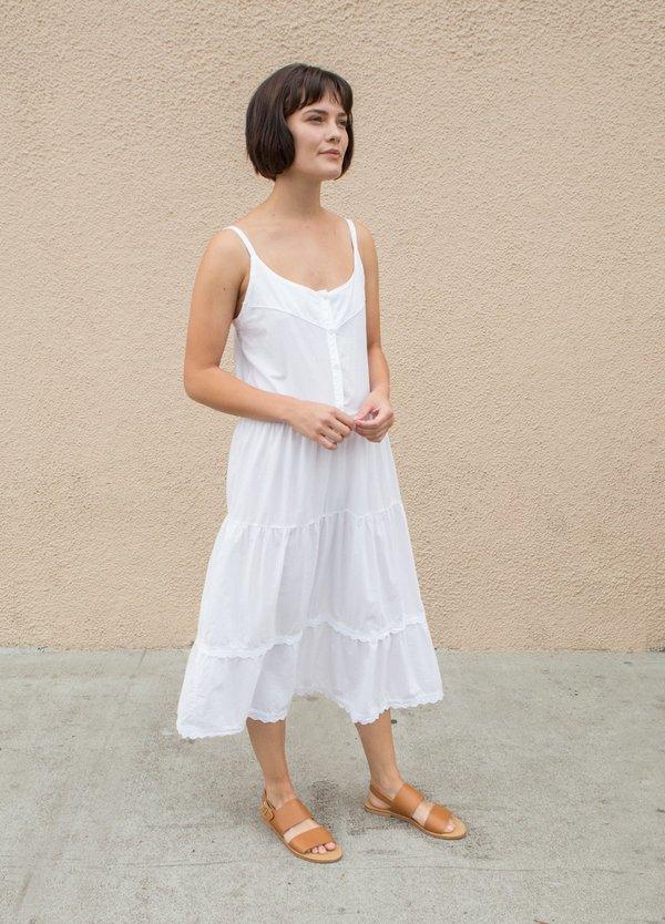 Lacausa Goldie Dress - White Wash