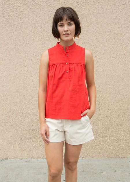 Loup Carolyn Blouse - Red